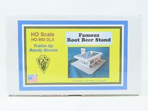 HO 1/87 Scale Trains by Randy Brown Kit HO-900 DLX Famous Root Beer Stand