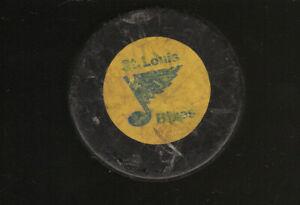 VINTAGE ST. LOUIS BLUES NHL RAWLINGS HOCKEY PUCK