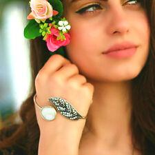 Statement Fashion Silver Retro Hand Jewelry Slave Women Boho Palm Cuff Bracelet