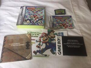 Mario & Luigi: Superstar Saga (Game Boy Advance, 2003) CIB w/ box and manual
