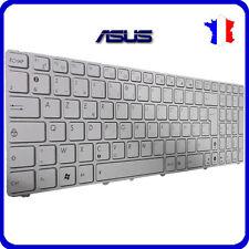 Teclado Francés Original Azerty para ASUS x52j Blanco Nuevo