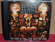 Napalm Death - The Code is Red Long Live the Code CD Rare METAL
