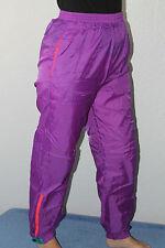 Men's   Vintage  Purple    Columbia     Nylon   Athletic    Pants  Medium    EUC
