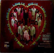 Richard & Patti Roberts Love Is 1971 Light Recs. LS-5563-LP XIAN ROCK Sealed LP