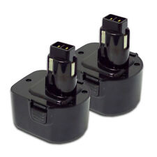 TWO Power Tool Batteries For DEWALT 12V 152250-27 397745-01 NiCD Battery x 2