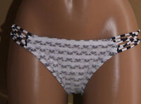 NEW O'Neill Stars & Stripes Americana Swimwear Bikini Bottom S Small Navy White