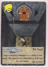Spellfire 1994 2nd Edition UR Chase 416/420 Pit Trap! EX