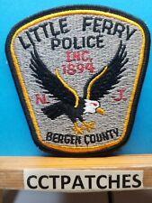 LITTLE FERRY, NEW JERSEY POLICE SHOULDER PATCH NJ