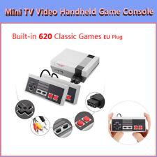 Mini Retro TV Video Handheld Game Console Built-in Classic 620 Games for NES EU