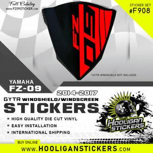 Yamaha FZ-09 GYTR custom Windshield sticker [F908]