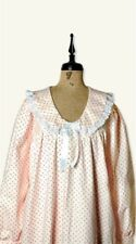 Victorian Trading Co Rosebud Flannel Nightie Night Gown 2X Free Ship NIB
