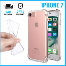Transparent Gel Clear Bumper Case Cover Cas Etui Coque Silicon For iPhone 7