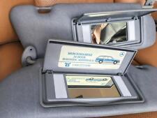 Mercedes C W 126 300 420 500 560 SEC SEL SE SD Sun Visor s Pair Grey Gray Mint !