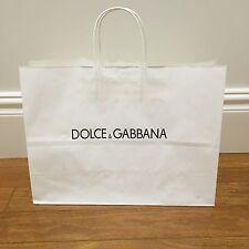 Authentic Dolce & Gabbana paper shopping bag 40 x 30.5 x 15 ~ Stylish