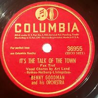 Benny Goodman Orch: It's The Talk Of The Town / Swing Angel: Columbia 1945 (Jazz