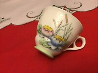 Royal Stafford Bone China Cat Tails And Water Lillies Tea  Cup Made In England