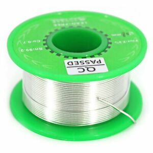 Universal Protection 0.8mm Lead-free Solder Tin Wire Sn99.3 Cn0.7 Silver (40g)