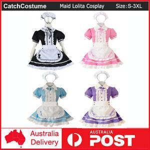 Anime Lolita Sexy Japanese Maid  Kawaii Outfit Cosplay Uniform Waitress Costume