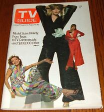 1974 RENO TV GUIDE~BARBARA FELDON MARINA DEL REY,CALIFORNIA HOUSEBOAT~DORA HALL