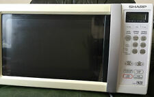 Sharp R259 22L 800W Freestanding Microwave Oven Used Good Working Condition