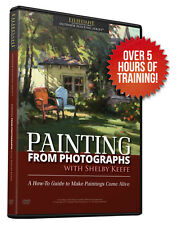 Shelby Keefe: Painting From Photographs - Art Instruction DVD