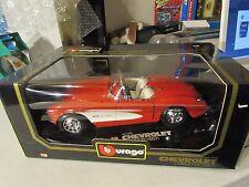 Bburago 1:18 Chevrolet Corvette (1957) Red