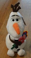 Disney Frozen Sommer Olaf mit Blumen ca. 30 cm Stofftier Plüschfigur Eiskönigin