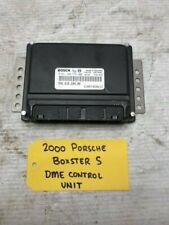 00 01 02 PORSCHE BOXSTER S 986 996 ENGINE COMPUTER DME ECU ECM 996.618.604.08