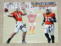 TYRONE MOSS & KYLE WRIGHT Signed MIAMI HURRICANES 8x10 photo- Future is NOW