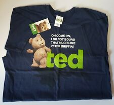 Ted 2 Film Tshirt Official Slogan T Shirt Comedy Mark Whalberg Medium