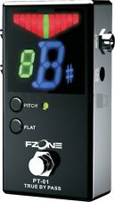 Fzone PT-01 Pedal Tuner For Guitar Bass Chromatic True Bypass LED Display Effect