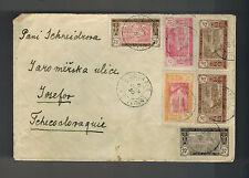 1930 Bouafle Ivory Coast cover to Czechoslovakia AOF Airmail