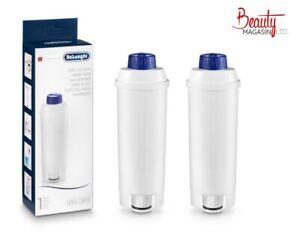 2 X Delonghi Genuine Coffee Machine Water Filter DLSC002 5513292811 SER3017