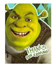 Shrek 4 Ever After Thank You Cards 8 Per Package Birthday Party Supplies NEW