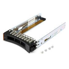 "2.5"" SFF Hotswap IBM Server Festplatten Rahmen HDD Tray Caddy SATA SAS 44T2216"