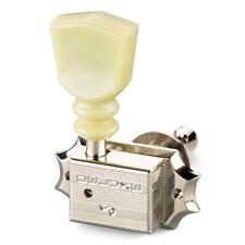 Schaller Original G-Series Keystone DR Vintage Tuners for Gibson® 3x3 - NICKEL