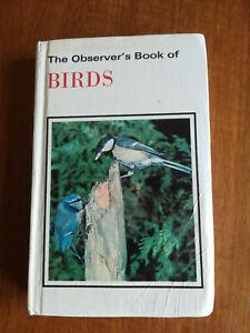 THE OBSERVER'S BOOK  OF   BIRDS S VERE  BENSON  FITH REPRINT 1981