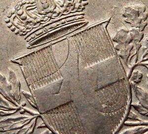 MINT ERROR - ITALY Vittorio Emanuele III 1918 R 20 CENTESIMI, TRACES OF BROCKAGE