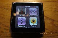 Apple iPod nano 6th Generation Space Graphite --8 GB (MC688LL)