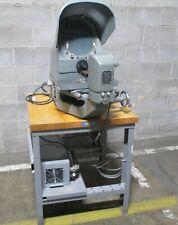 Jones Amp Lamson Tc 10 10 Optical Comparator 100x Amp Deltron Stage 125 Travel