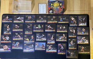 2001 Fleer WWF Championship Clash 80 Cards Base Set and Checklist