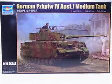 45454 Trumpeter 00921 Germ.Pzkpfw IV Ausf.J Tank 1:16 Bausatz NEU OVP