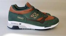 New Balance Made in England 1500 Robin Hood Sz 12 D New Green Brown M1500GT