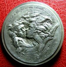 Romeo and Juliet by William Shakespeare Very Rare 34/100 medal by R.-L.Chavanon