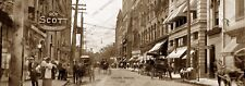 """Knoxville, Tennessee 1910 Historic Sepia Photo Reprint 5"""" x 14"""" FREE SHIPPING!"""