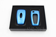 Blue Remote FOB Key Cover Shell Holder fit for FORD Fiesta Focus Mondeo No key