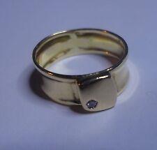 Ancienne Bague en or 18k sertie d'un diamant