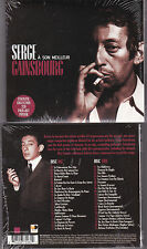 COFFRET DIGIPACK 2 CDS 42T SERGE GAINSBOURG A SON MEILLEUR + POSTER NEUF SCELL