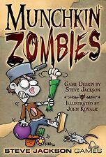 Munchkin Zombies Base Set Steve Jackson Games Brand New Factory SEALED