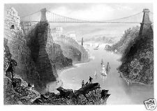 Clifton Suspension Bridge11x8 Inch Art Print